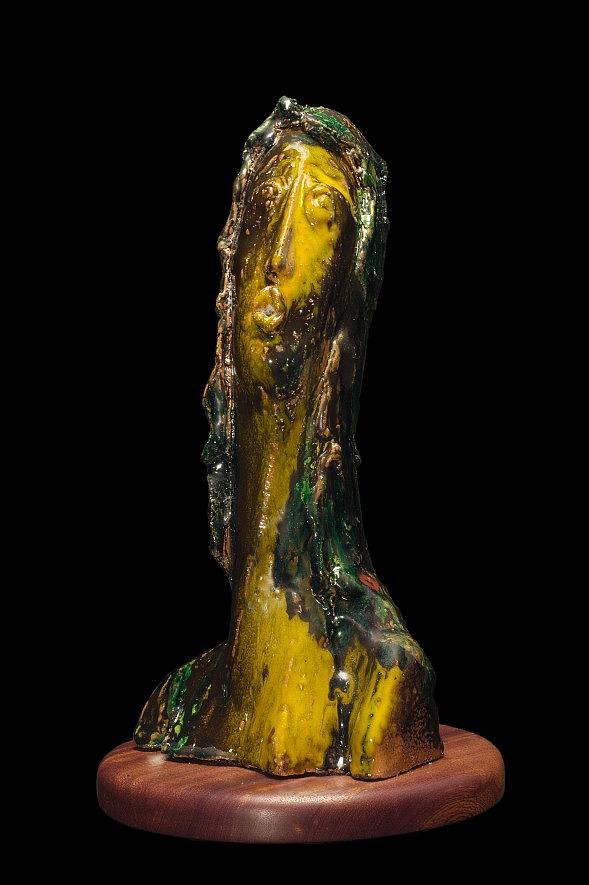 Ceramic Sculpture - Il Sacrificio by Gian Genta