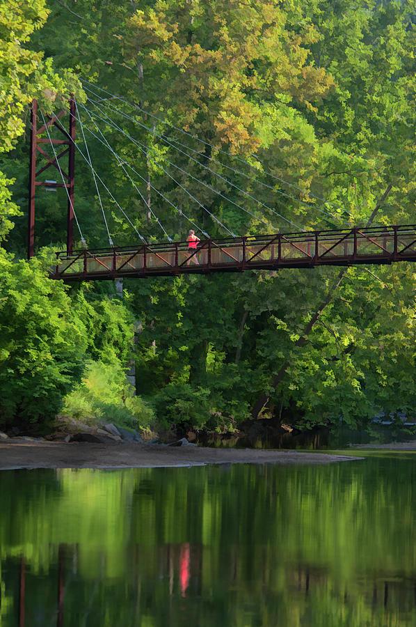 Ilchester-Patterson Swinging Bridge by Dana Sohr