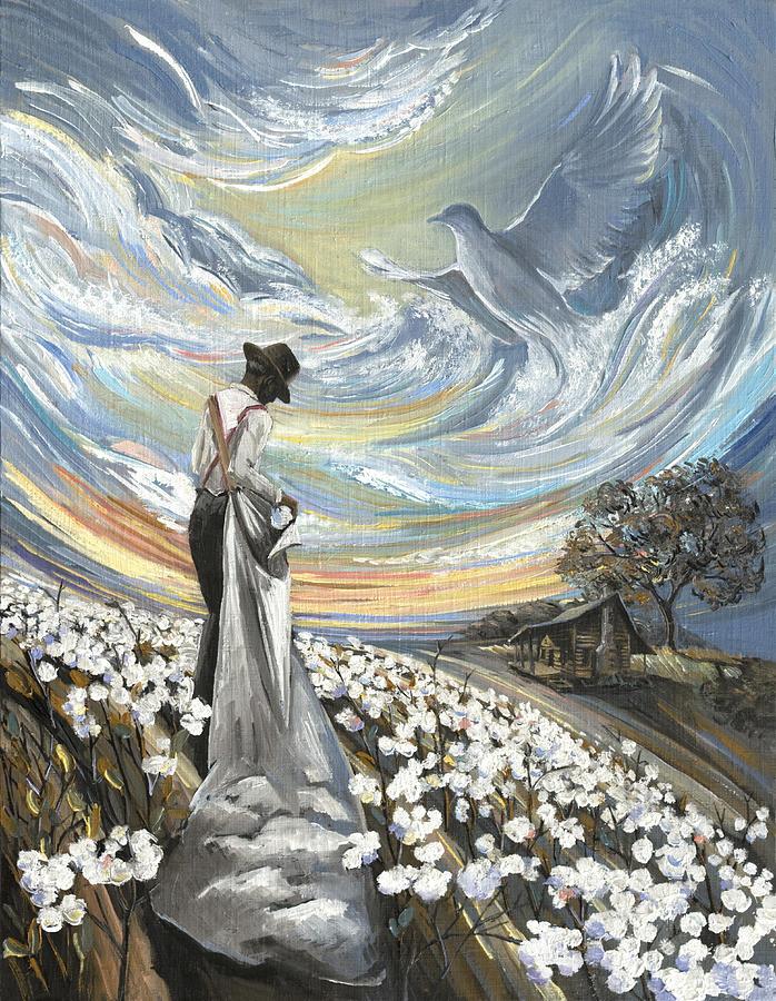 I'll Fly Away Painting - Ill Fly Away by Paula McHugh
