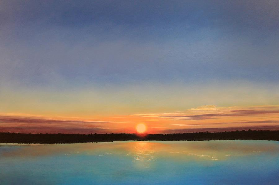 Sunset Painting - Ill Follow The Sun by Paul Newcastle