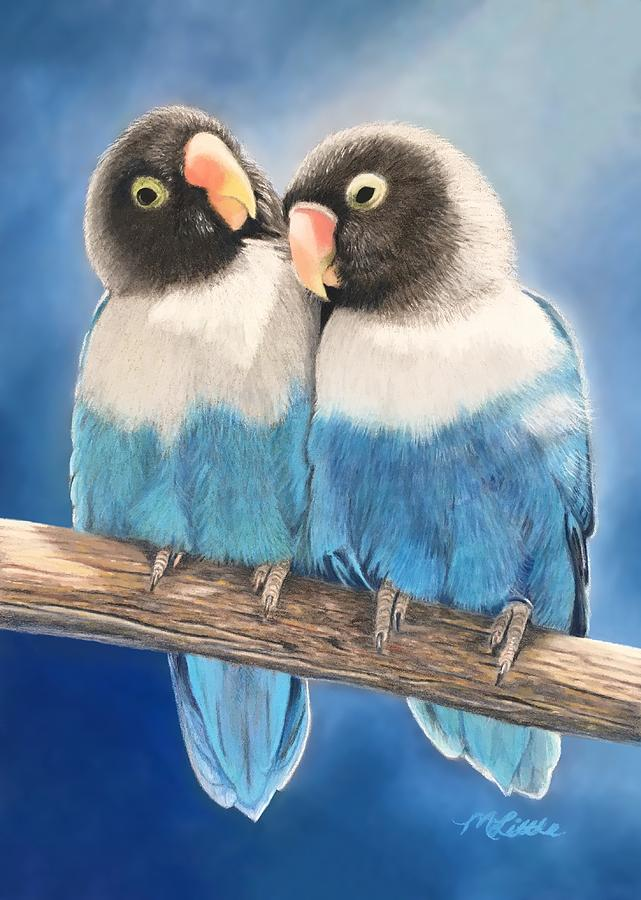 Lovebirds by Marlene Little