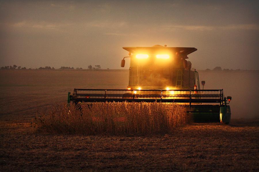 Illinois Photograph - Illinois Farmer by Goldie Pierce
