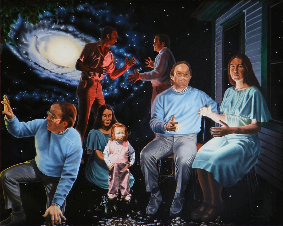 Surreal Painting - Illumination Beyond Ursa Major by Dave Martsolf