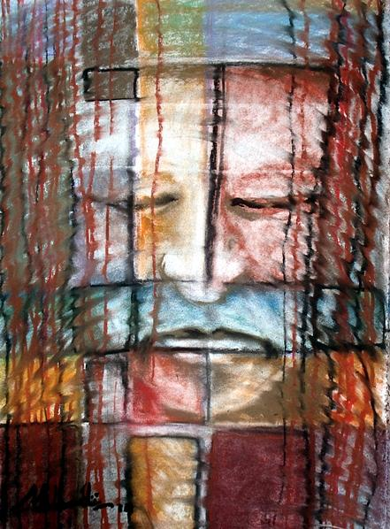 Illusion-5 Painting by Tarak Mahadi