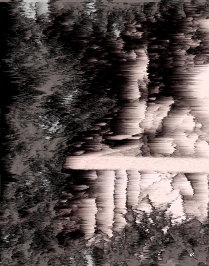 Abstract Digital Art - Illusion by Gerlinde Keating - Galleria GK Keating Associates Inc