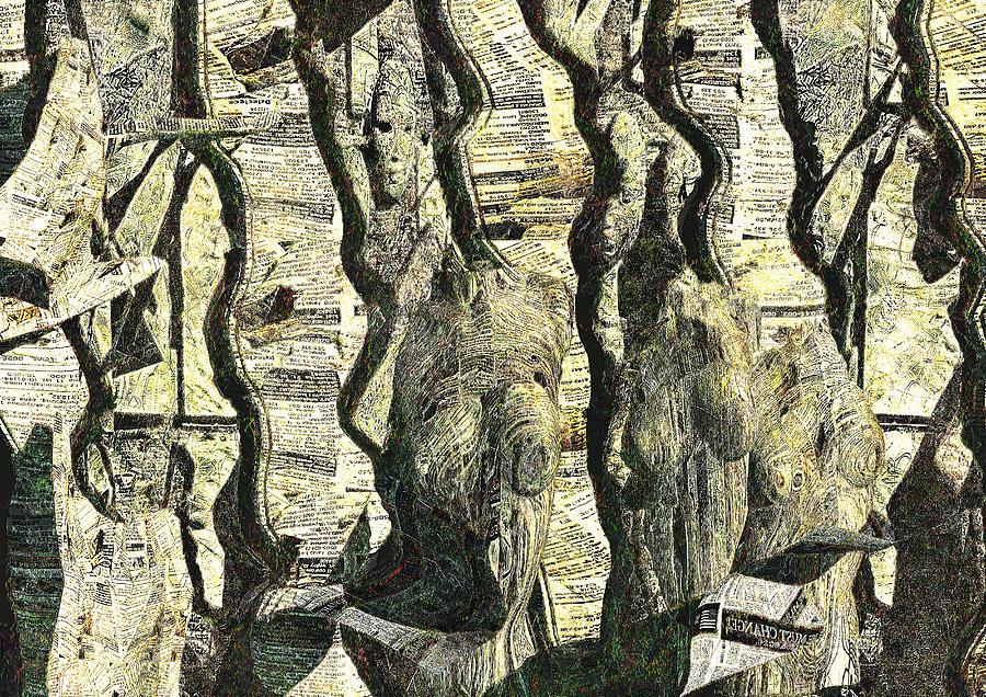 Illusion Digital Art - Illusion by Haruo Obana