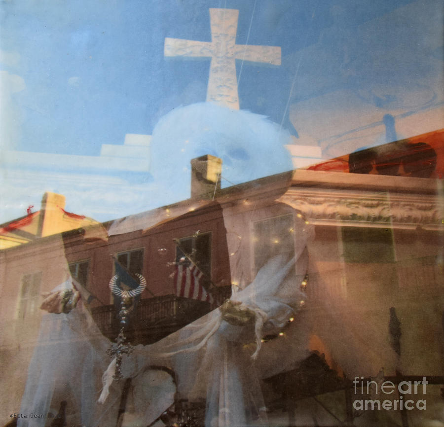Wax Mixed Media - Illusions IIi by Etta Jean Juge