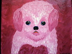 Pet Portraits Painting - Im Just A Pup by Suzanne Filotei