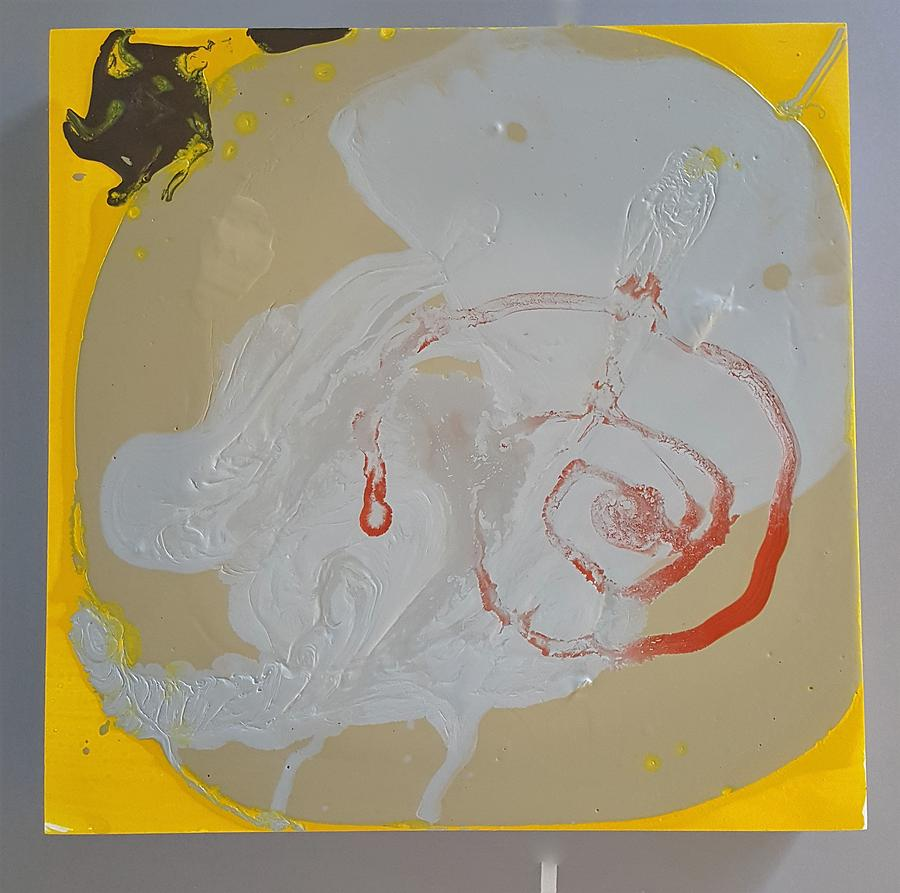 Abstract Painting - Im just sooo swirly  by Gyula Julian Lovas