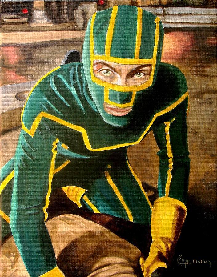 Kick-ass Painting - Im Kick-ass by Al  Molina