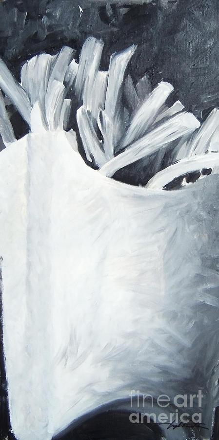 Food Painting - Im Lovin It by Joseph Palotas