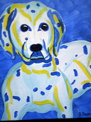 Pet Portraits Painting - Im So Cute by Suzanne Filotei