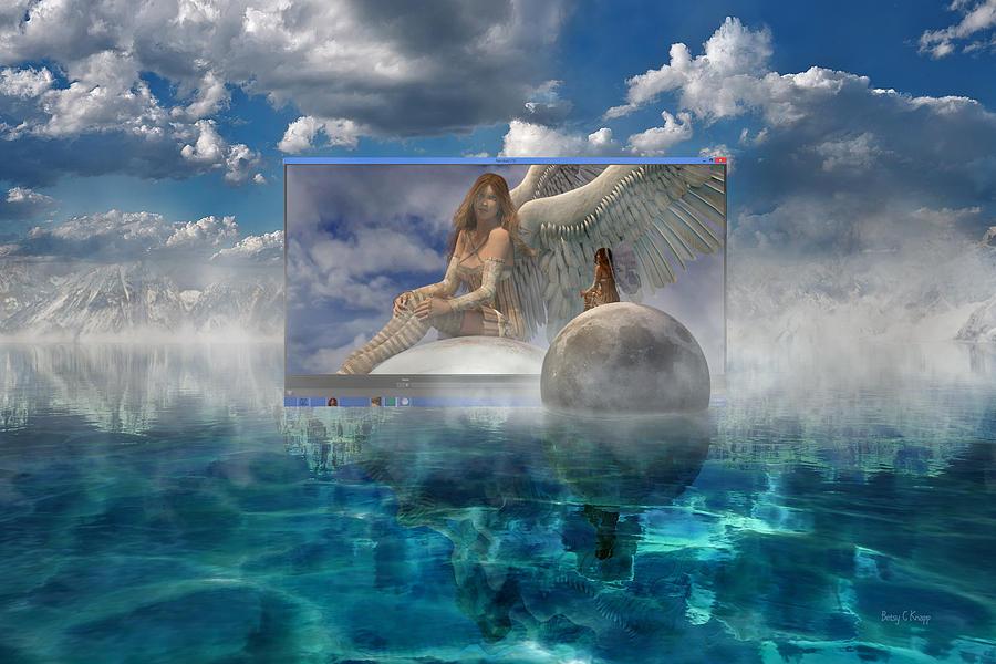 3d Digital Art - Image by Betsy Knapp