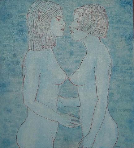 Erotic Painting - Image II. by Filip TAK