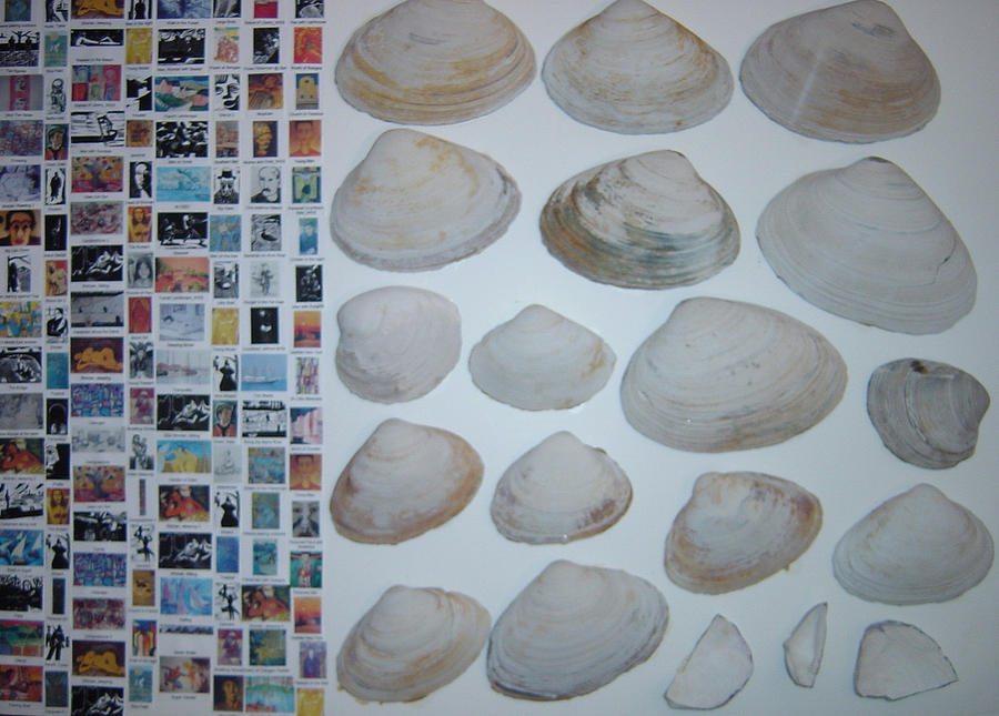 Images And Shells Painting by Biagio Civale
