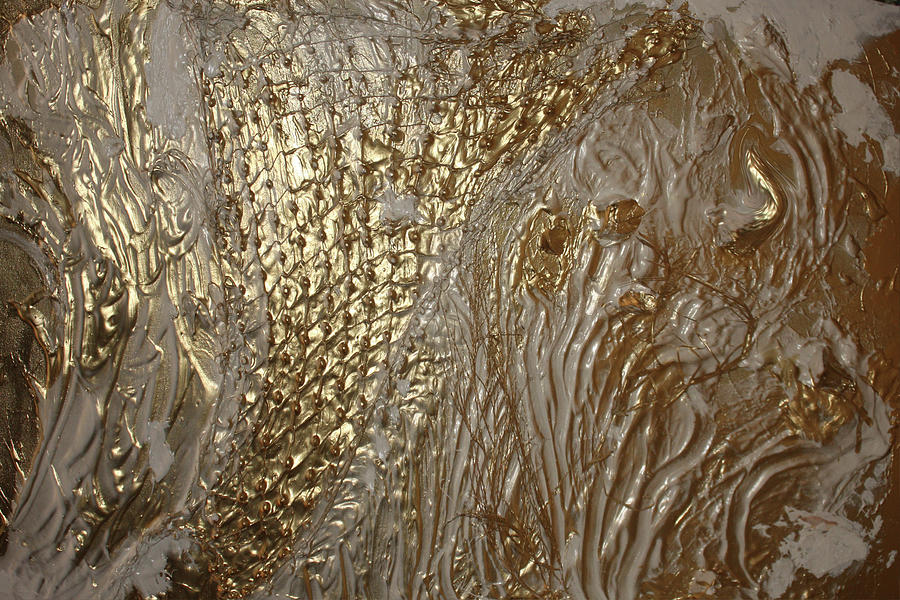 Collage Painting - Images Of Golden Beauty by Sherris - Of Palm Springs