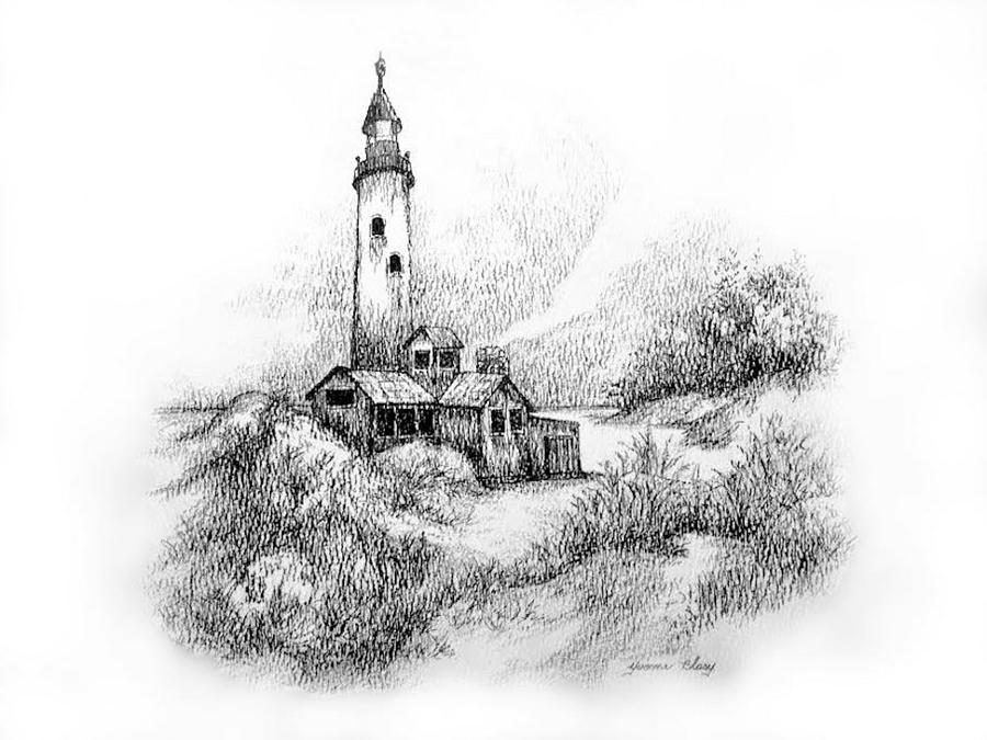 Imaginary Lighthouse by Yvonne Blasy