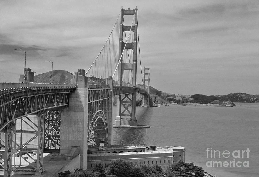 Imagination Of The Golden Gate In 1937 Photograph