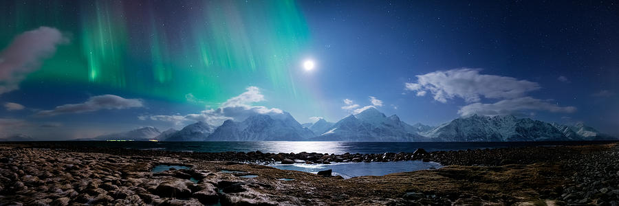 Panorama Photograph - Imagine Auroras by Tor-Ivar Naess