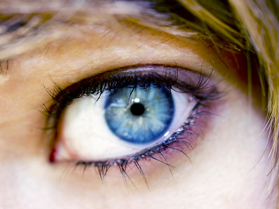 Eye Photograph - Imagine by Kelly King