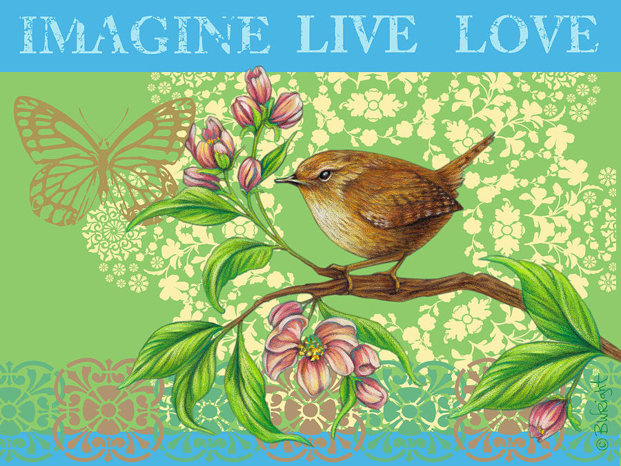 Imagine Live Love by Beth Wright