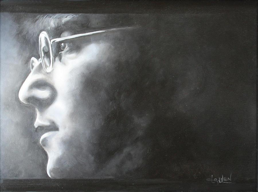 John Lennon Painting - Imagine by Lorraine Ulen
