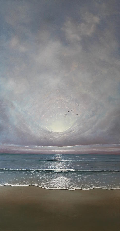 Sea Painting - Imagine by Paul Newcastle