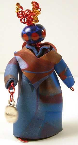 Doll Sculpture - Imagine Sculpture by Lynette Fast