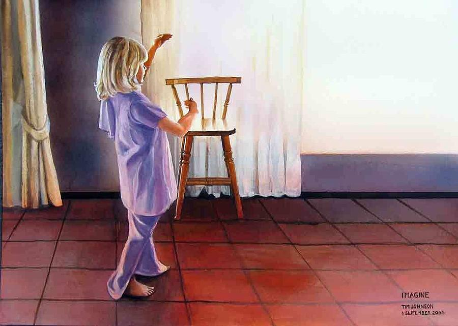Imagine Painting - Imagine by Tim Johnson