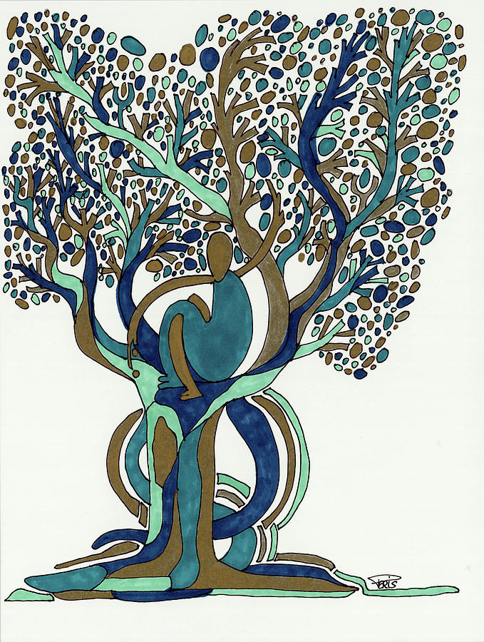 Imaginist Nature Trees Series 1024 by Jean Francois Paris