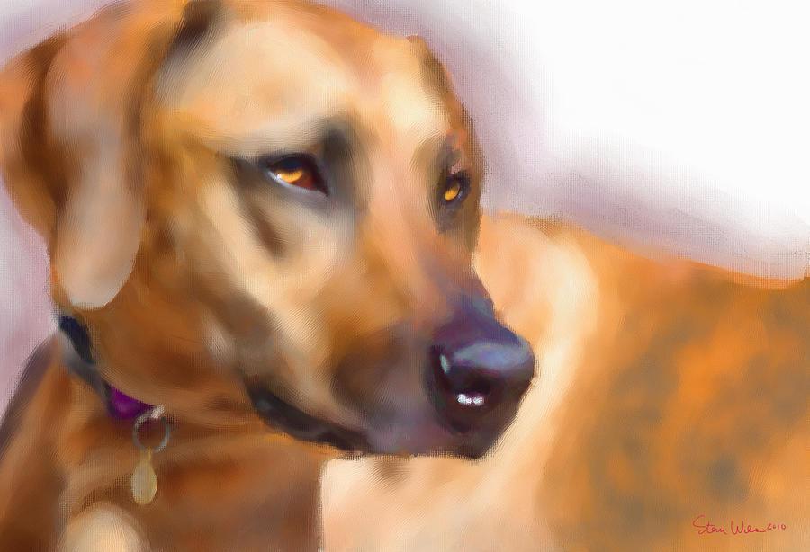 Dogs Digital Art - Imani by Steven Wilson