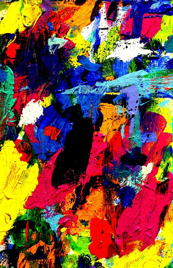 Abstract Painting - Imma   61   by John  Nolan