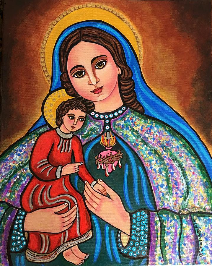 Immaculate Heart of Mary by Susie Grossman
