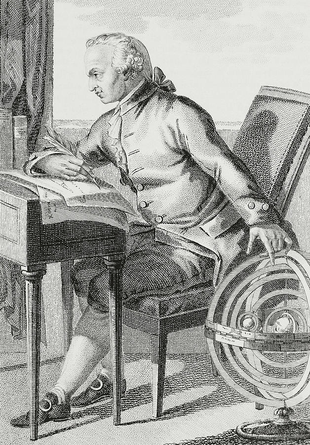 Kant Drawing - Immanuel Kant by German School