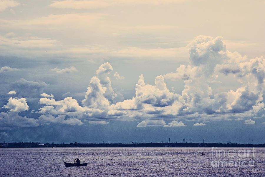 Clouds Photograph - Immensite by Aimelle