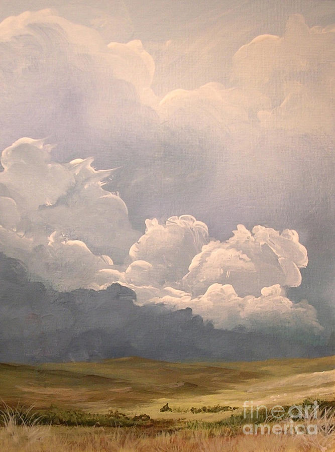 Storm Painting - Imminent Tempest by John Wise