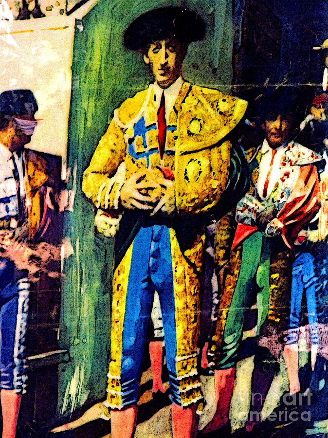Bullfighter Photograph - Immortalized by Mexicolors Art Photography