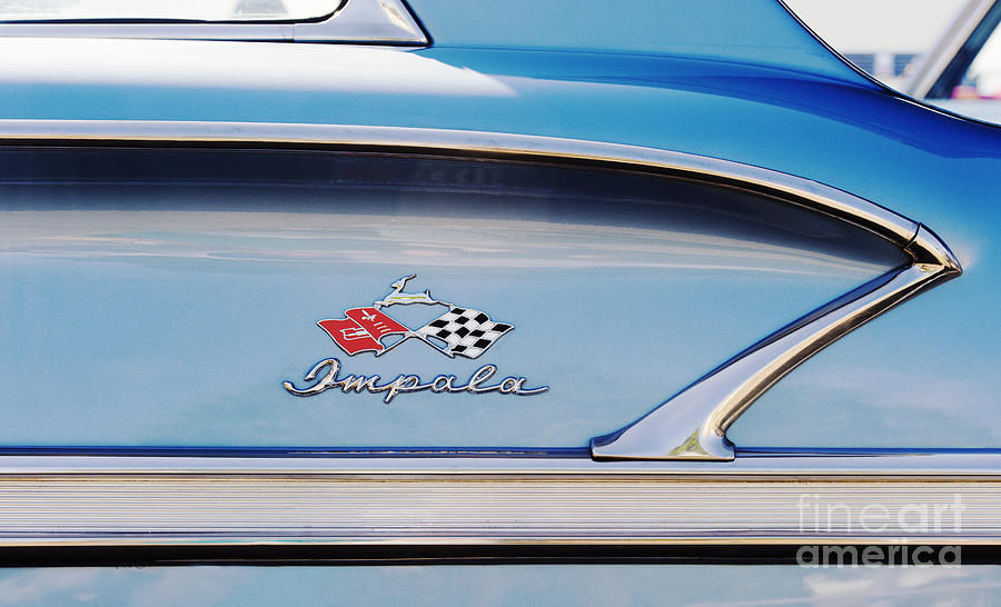 Chevrolet Photograph - Impala Style by Tim Gainey