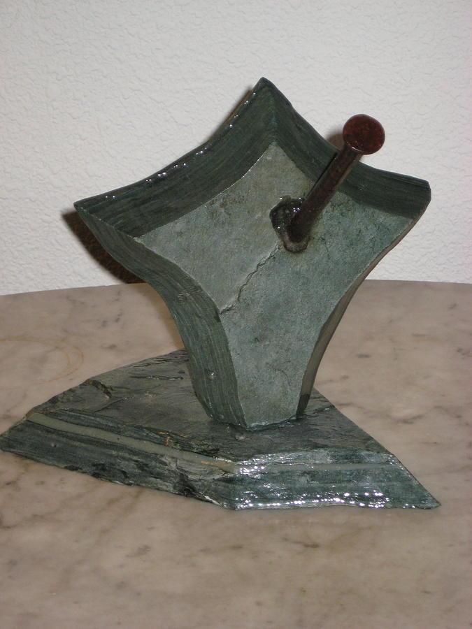 Impaled Sculpture by Robert Walker