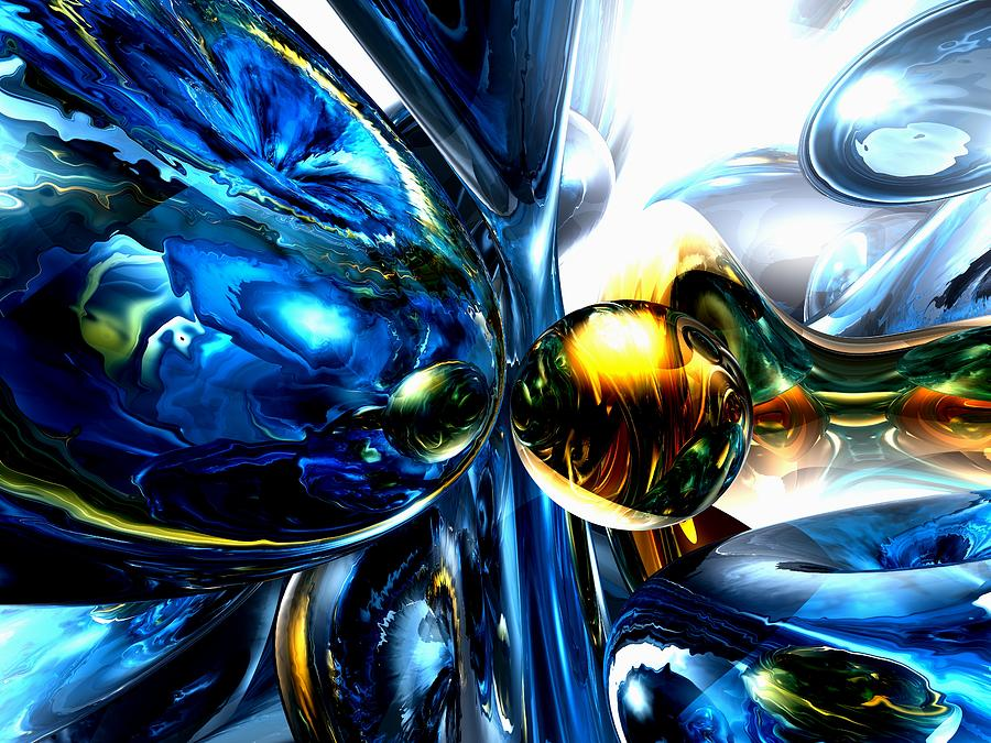 3d Digital Art - Impassioned Abstract by Alexander Butler