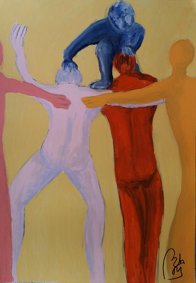 People Painting - Impediment. Initial idea by Bachmors Artist