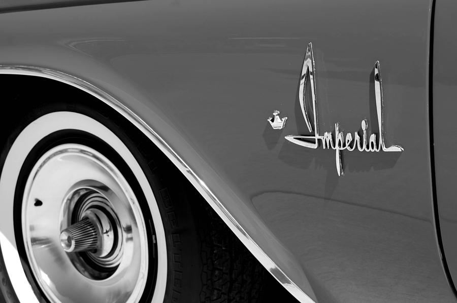 Car Photograph - Imperial by Audrey Venute