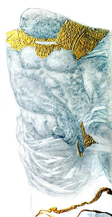 Man Drawing - Imperor 2 by Valeriy Mavlo