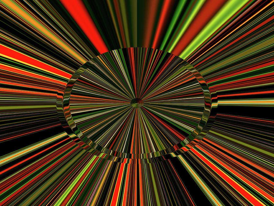 Implosion Digital Art by Phil Tailleur