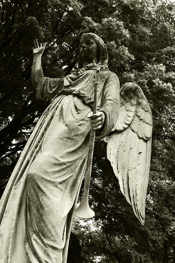 Imposing Angel Photograph by Brigid Nelson