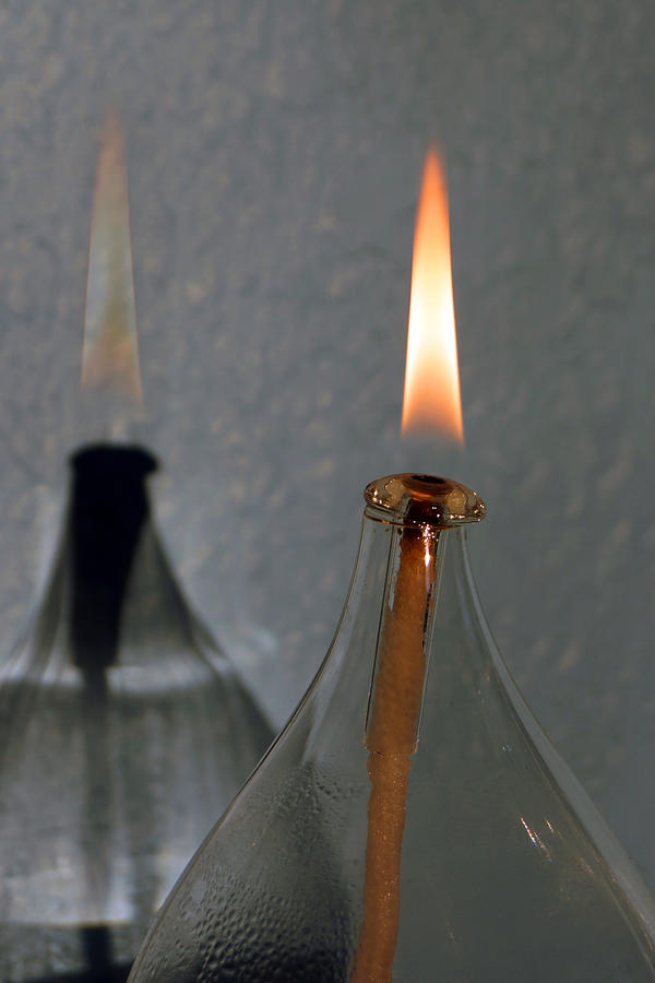 Impossible Shadow Oil Lamp by Jana Russon