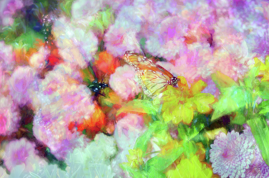 Flower Photograph - Impressionist Floral Xxxi by Tina Baxter