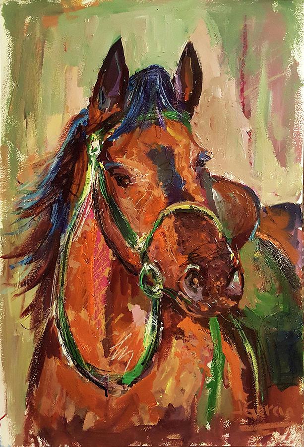 Impressionist Horse by Janet Garcia