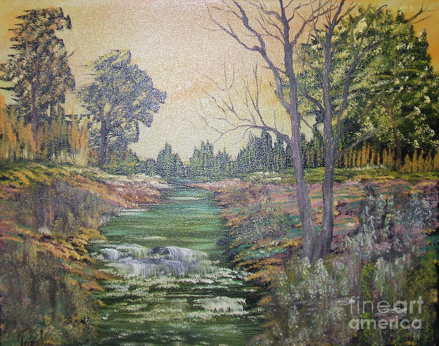 Impressions In Oil Painting - Impressions In Oil - 1 by Bill Turck