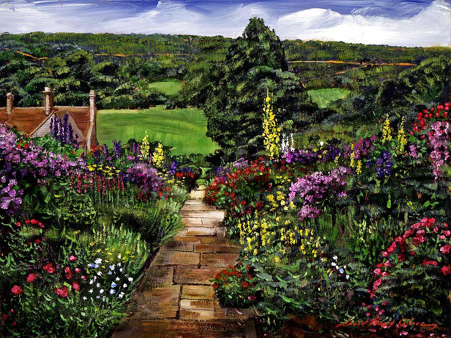 Impressionism Painting - Impressions Of England by David Lloyd Glover